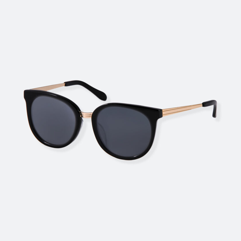 OhMart People By People - Round Sunglasses ( DBD007 - Black ) 3