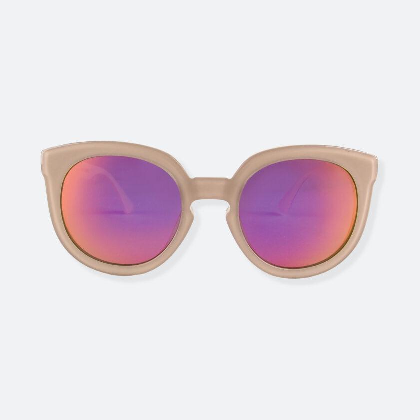 OhMart People By People - Wayfarer Round Acetate Sunglasses ( JFF002 - Khaki ) 1