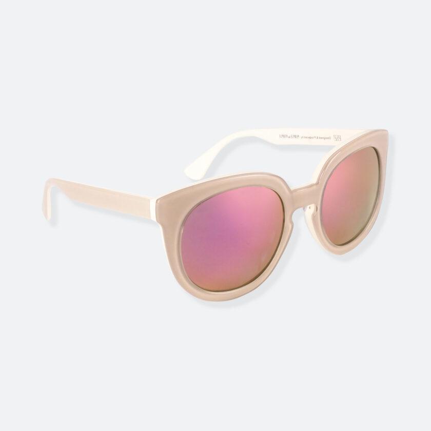 OhMart People By People - Wayfarer Round Acetate Sunglasses ( JFF002 - Khaki ) 2