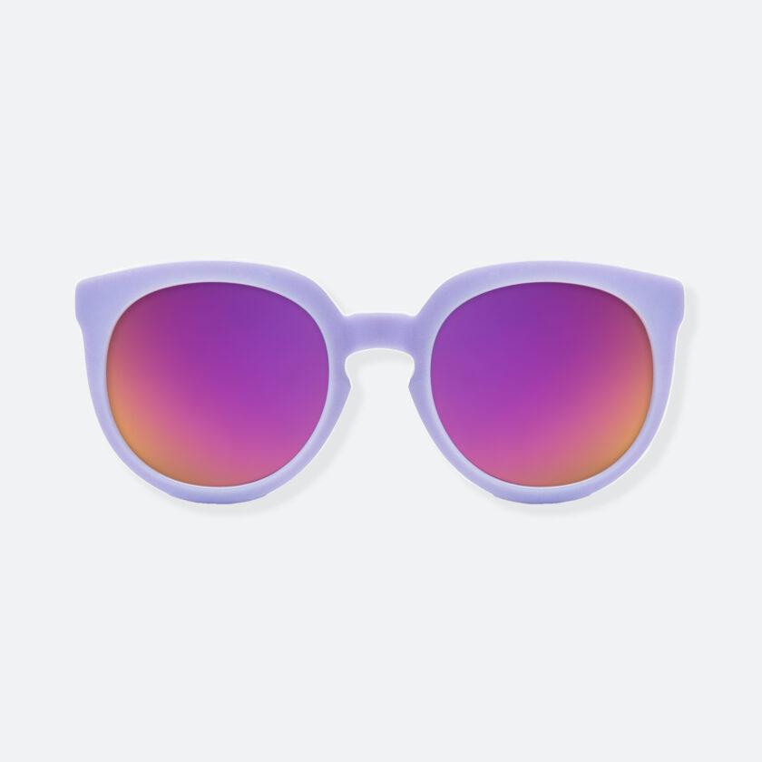 OhMart People By People - Wayfarer Round Acetate Sunglasses ( JFF002 - Light Purple ) 1