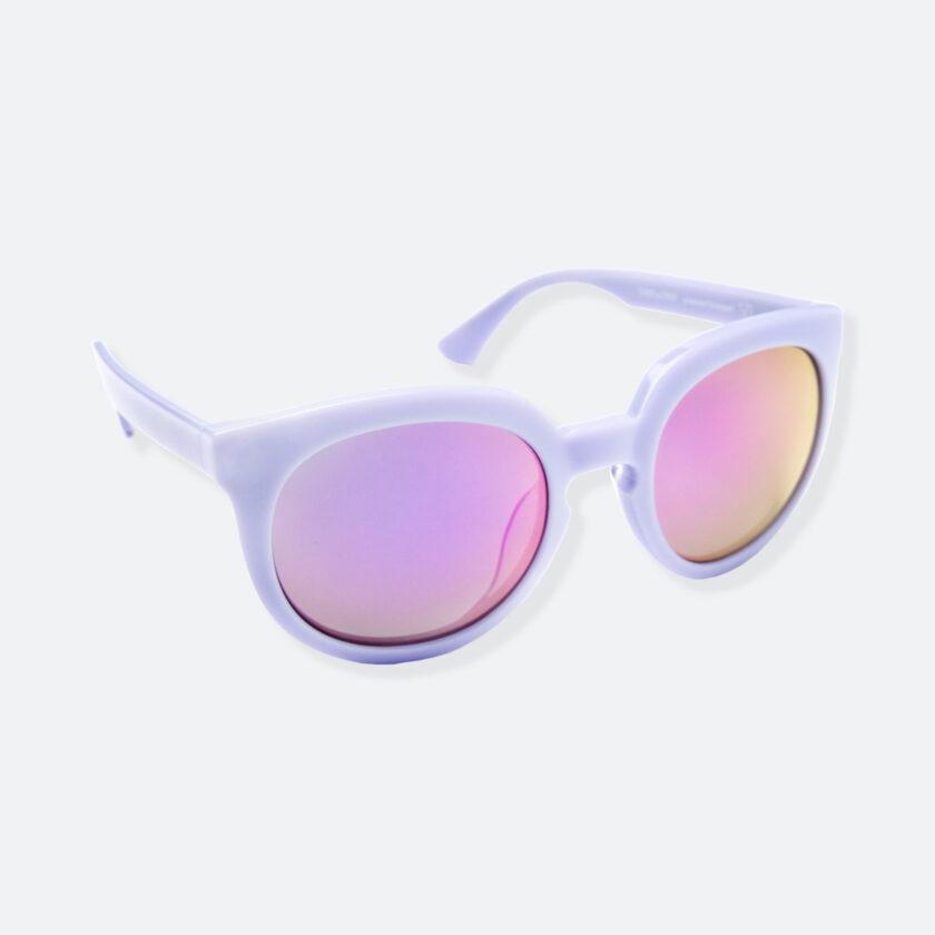 OhMart People By People - Wayfarer Round Acetate Sunglasses ( JFF002 - Light Purple ) 2