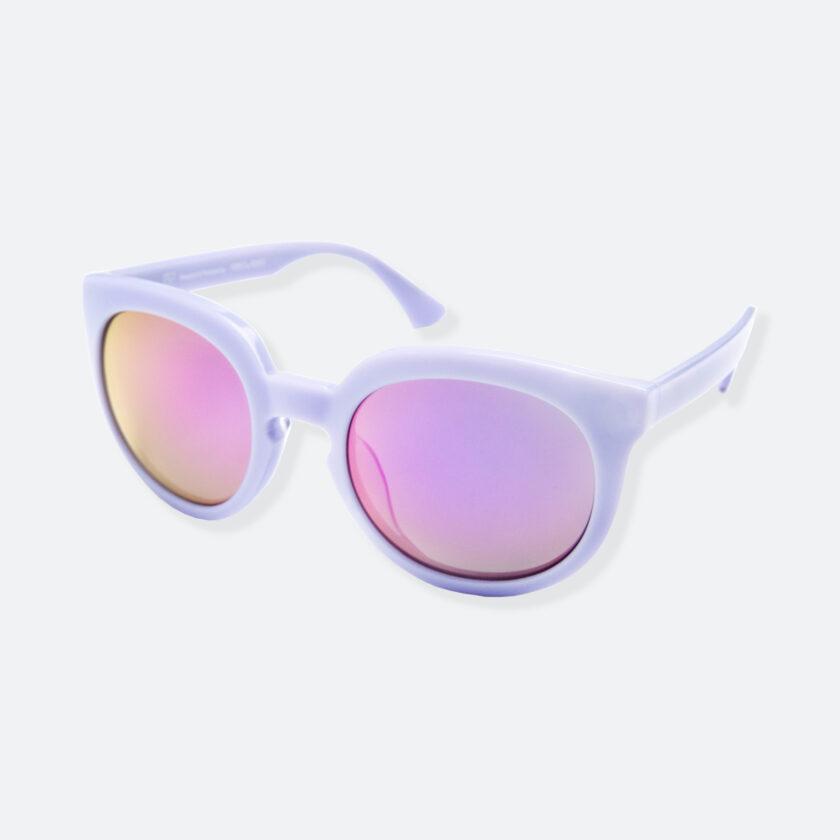 OhMart People By People - Wayfarer Round Acetate Sunglasses ( JFF002 - Light Purple ) 3