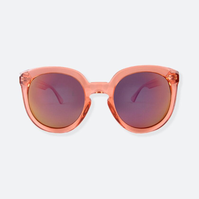 OhMart People By People - Wayfarer Round Acetate Sunglasses ( JFF002 - Transparent Pink ) 1