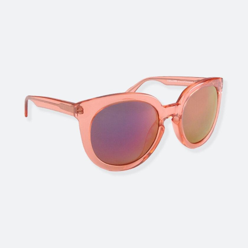 OhMart People By People - Wayfarer Round Acetate Sunglasses ( JFF002 - Transparent Pink ) 2