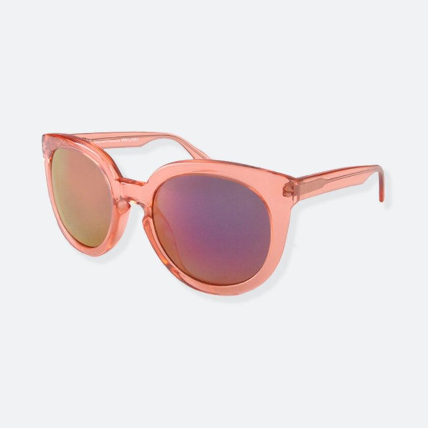 OhMart People By People - Wayfarer Round Acetate Sunglasses ( JFF002 - Transparent Pink ) 3