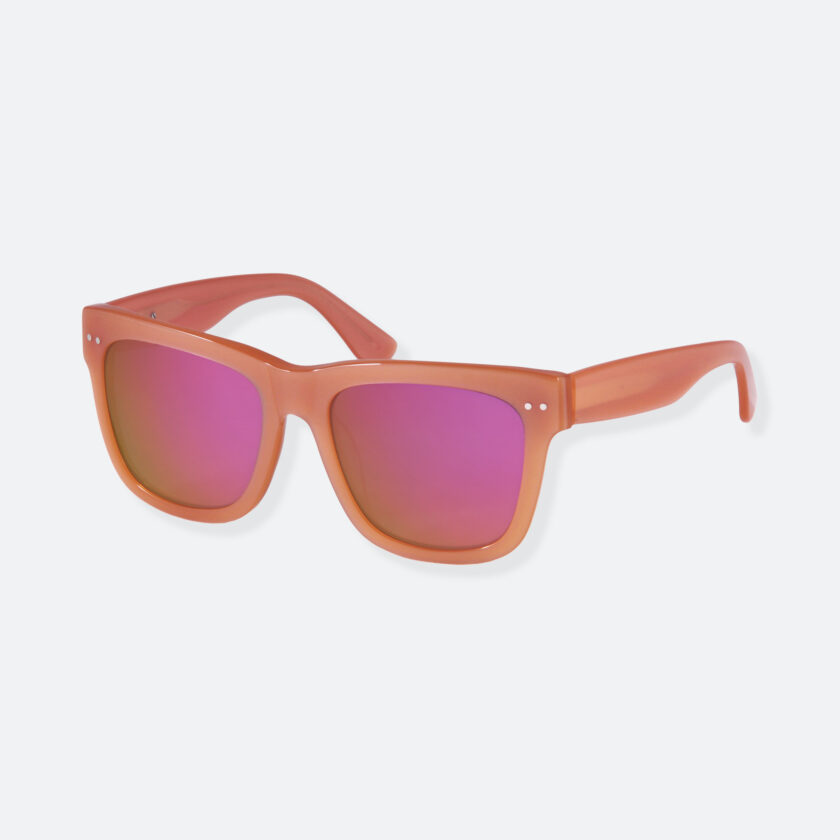 OhMart People By People - Wayfarer Acetate Sunglasses ( JFF008 - Carmine ) 3