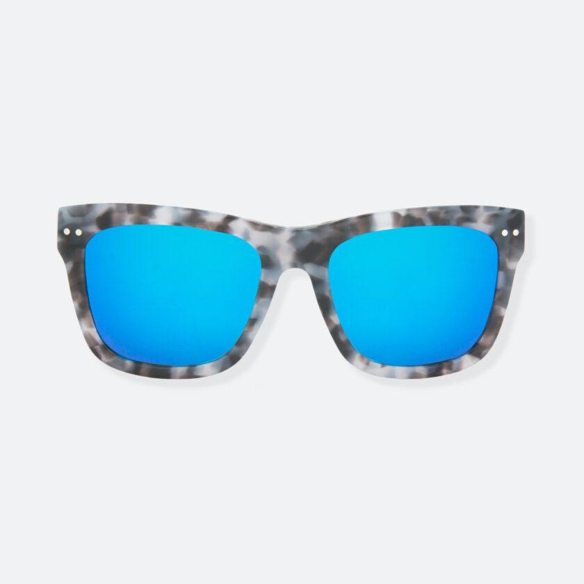 OhMart People By People - Wayfarer Acetate Sunglasses ( JFF008 - Tortoiseshell Blue Grey ) 1