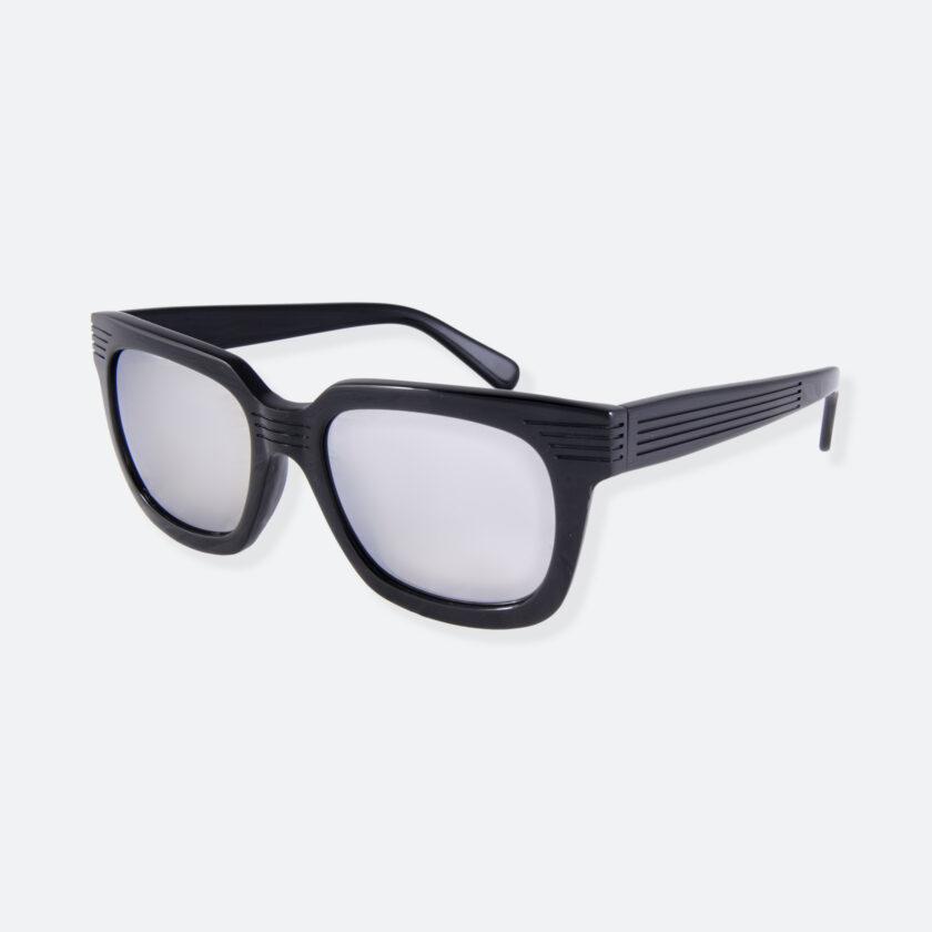OhMart People By People - Wayfarer Bold Frame Acetate Sunglasses ( JFF009 - Black ) 3