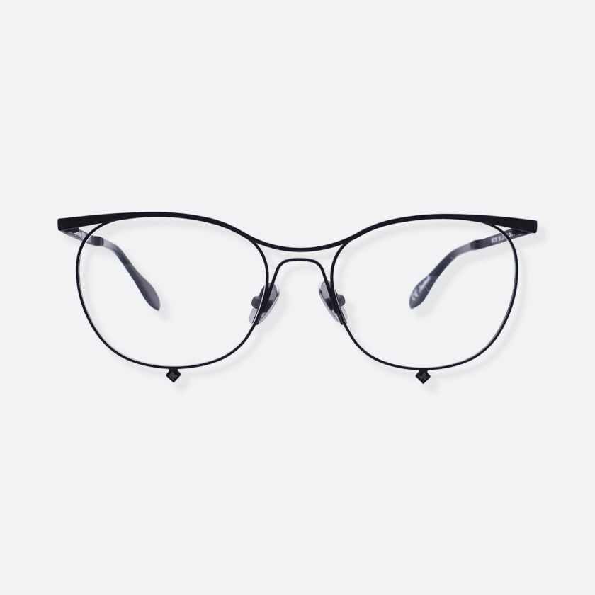 OhMart People By People - Browline Optical Glasses With Crystal from Swarovski ( Tears Of Love - Black ) 1