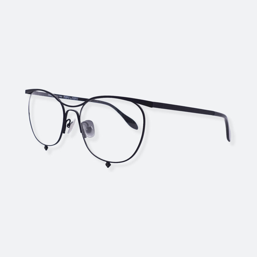 OhMart People By People - Browline Optical Glasses With Crystal from Swarovski ( Tears Of Love - Black ) 2