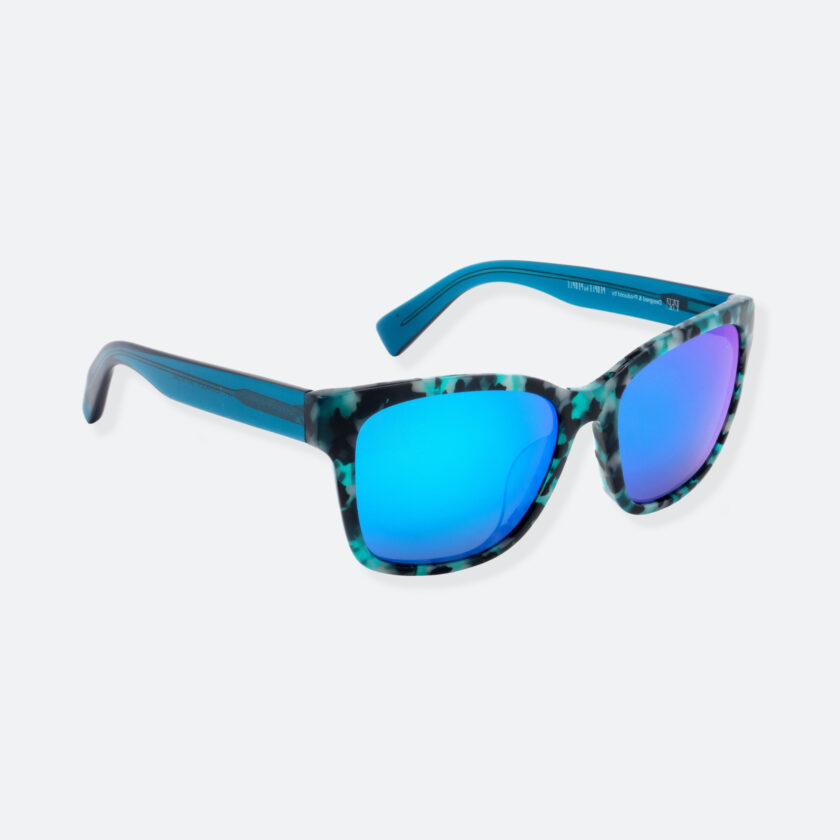 OhMart People By People - Wayfarer Acetate Sunglasses ( S001 - Light Blue ) 2