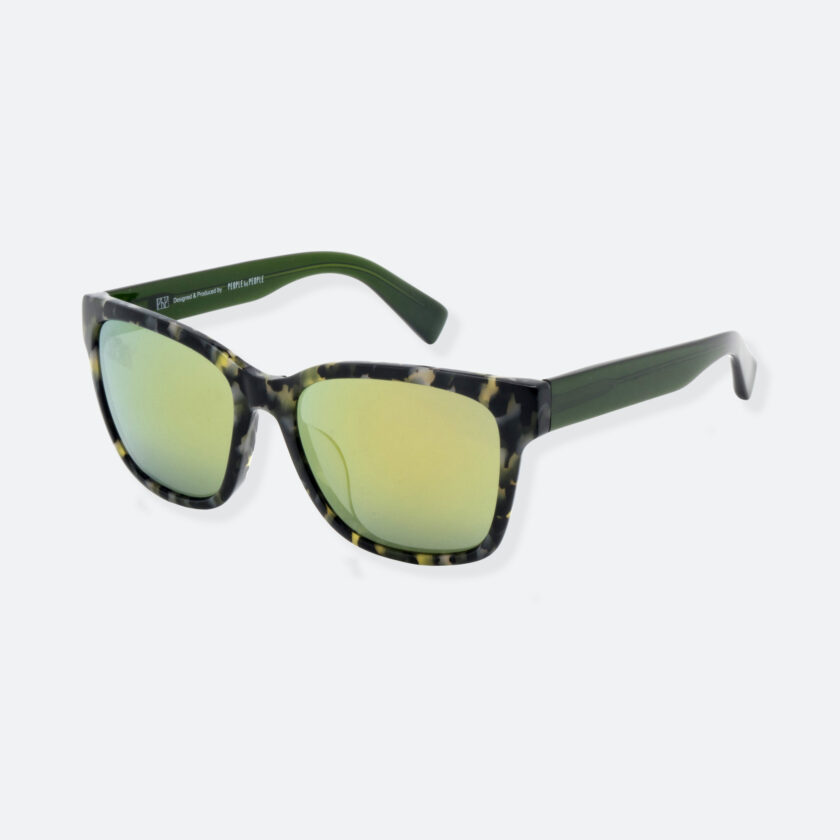 OhMart People By People - Wayfarer Acetate Sunglasses ( S001 - Green ) 3