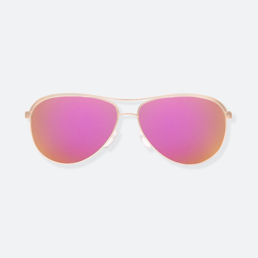 OhMart People by People - Contrasted Aviator Sunglasses ( Avia - Pink ) 1