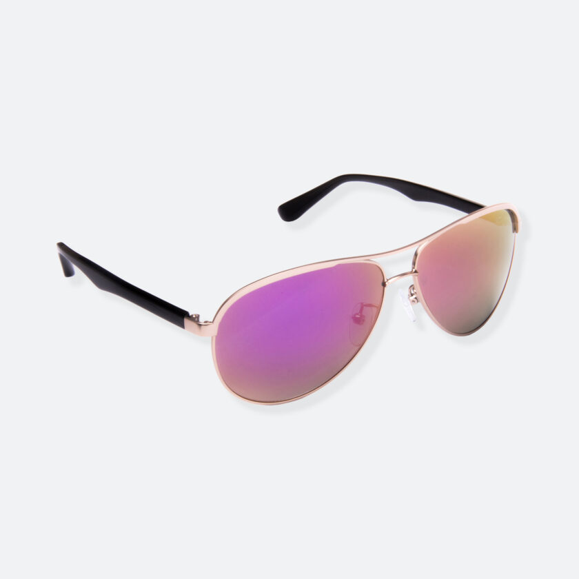 OhMart People by People - Contrasted Aviator Sunglasses ( Avia - Pink ) 2