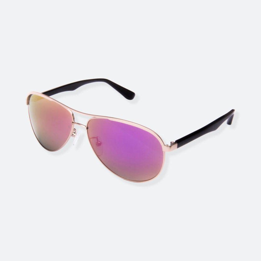 OhMart People by People - Contrasted Aviator Sunglasses ( Avia - Pink ) 3