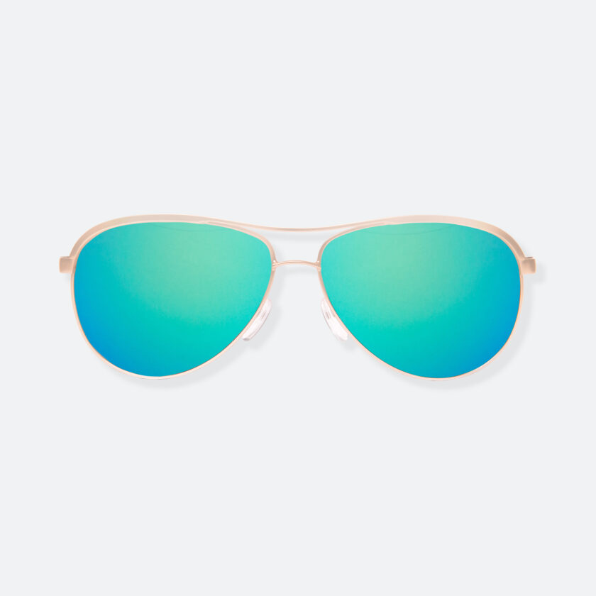 OhMart People by People - Contrasted Aviator Sunglasses ( Avia - Green ) 1
