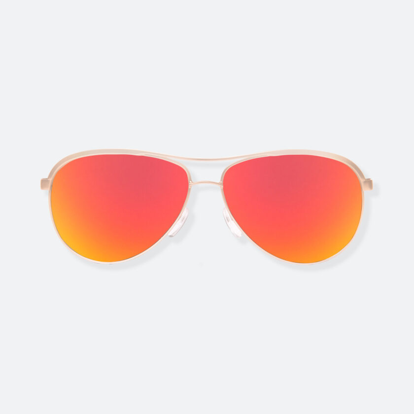 OhMart People by People - Contrasted Aviator Sunglasses ( Avia - Fire ) 1