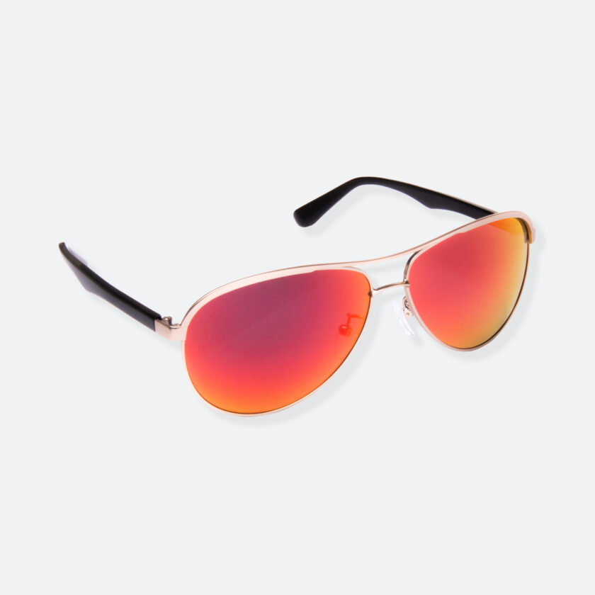 OhMart People by People - Contrasted Aviator Sunglasses ( Avia - Fire ) 2