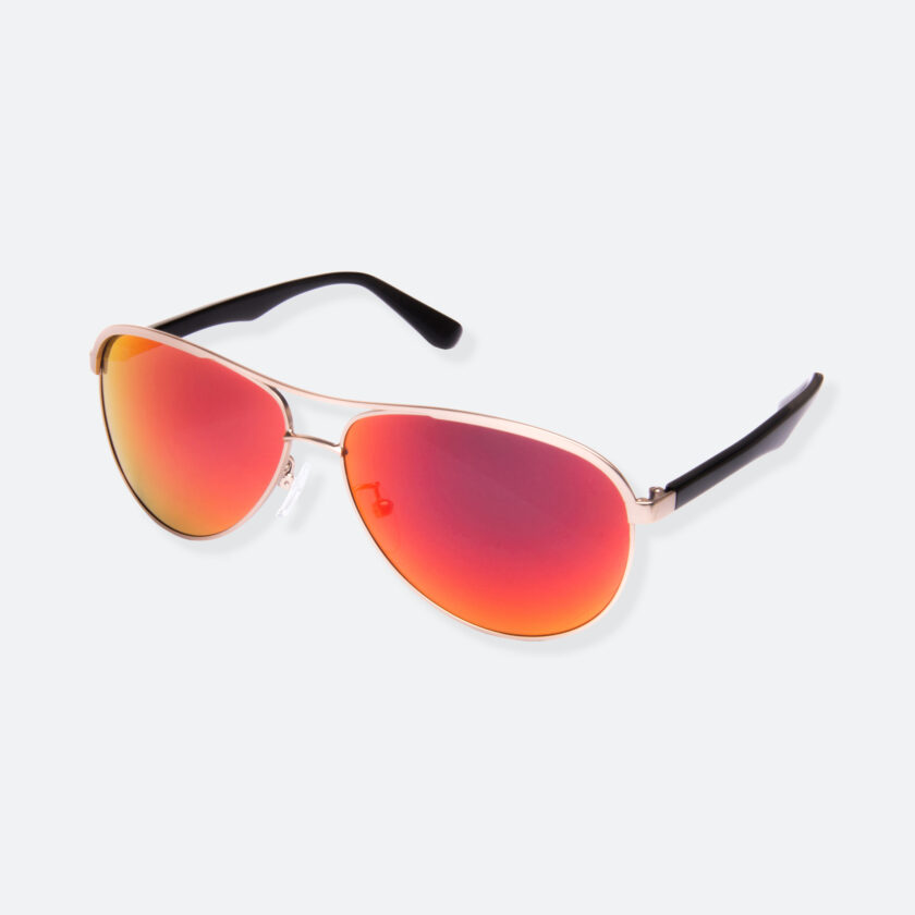 OhMart People by People - Contrasted Aviator Sunglasses ( Avia - Fire ) 3