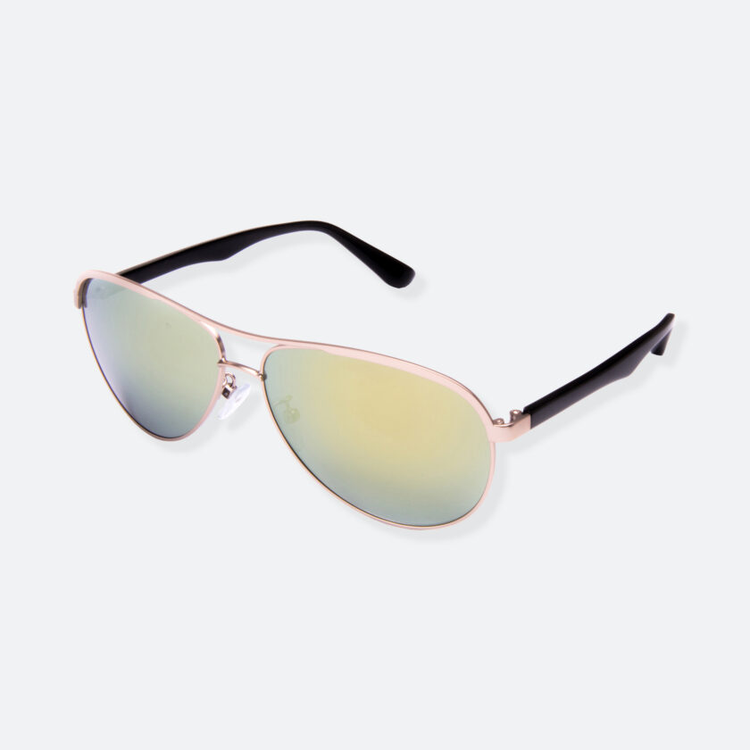 OhMart People by People - Contrasted Aviator Sunglasses ( Avia - Gold ) 3
