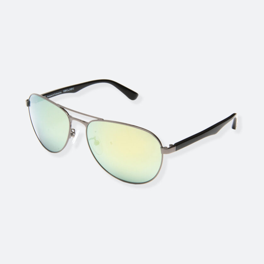 OhMart People By People - Aviator Sunglasses ( S011 - Olive Yellow ) 3