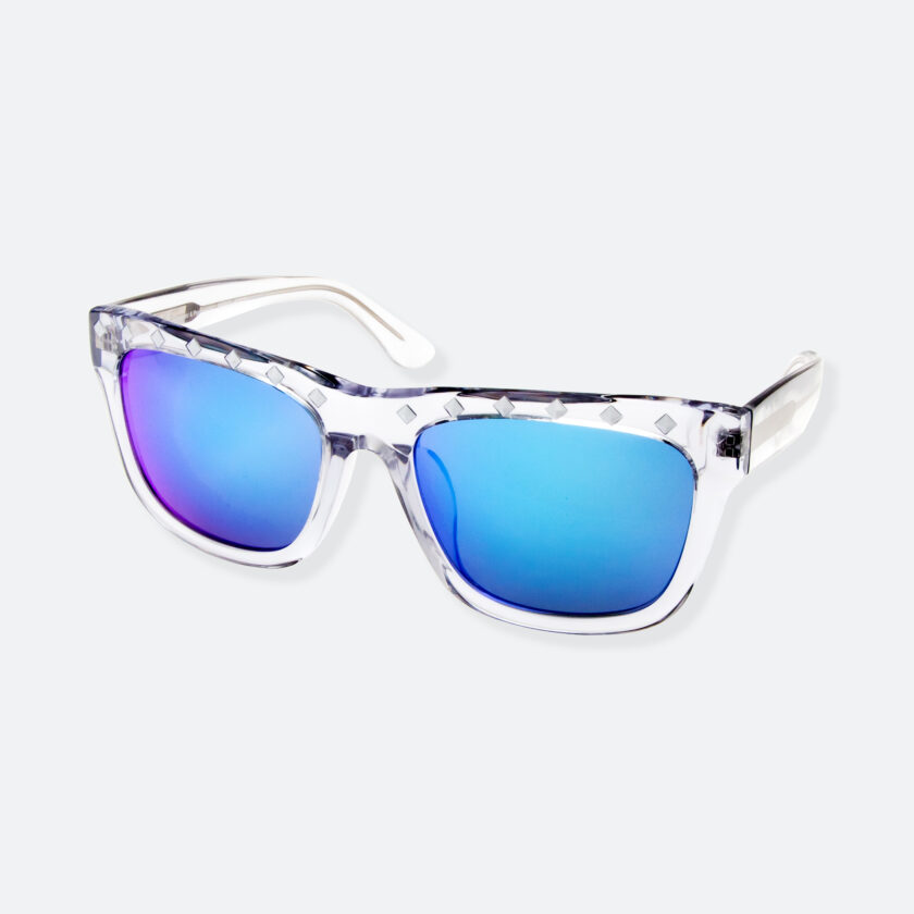 OhMart People By People - Wayfarer Sunglasses ( Content - Blue ) 3