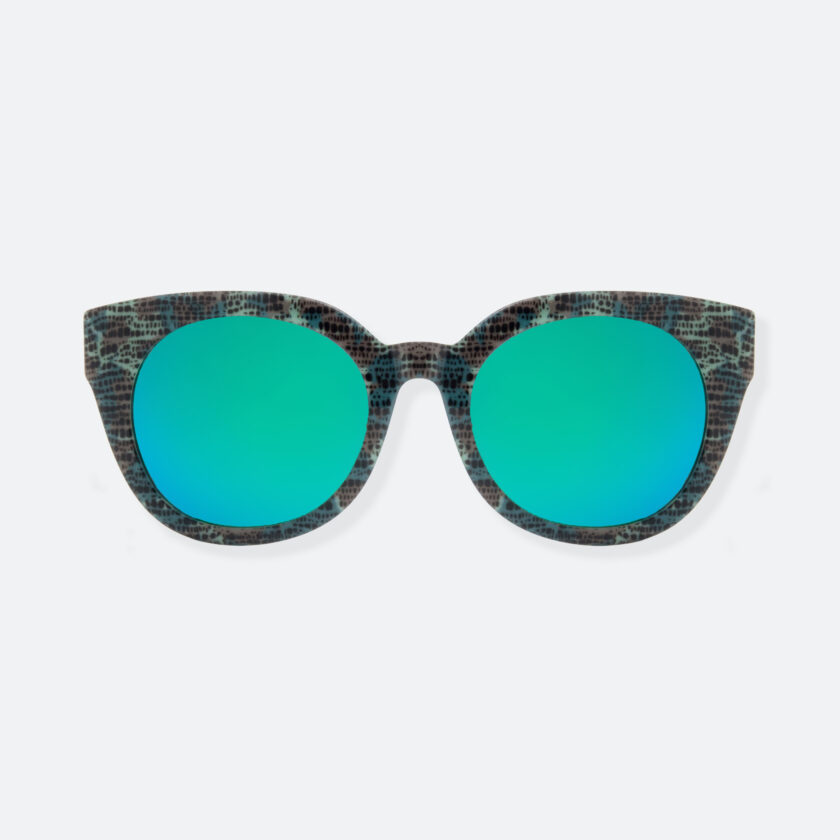OhMart People By People - Cat Eyes Shape Acetate Frame Sunglasses ( Bravery - Green ) 1