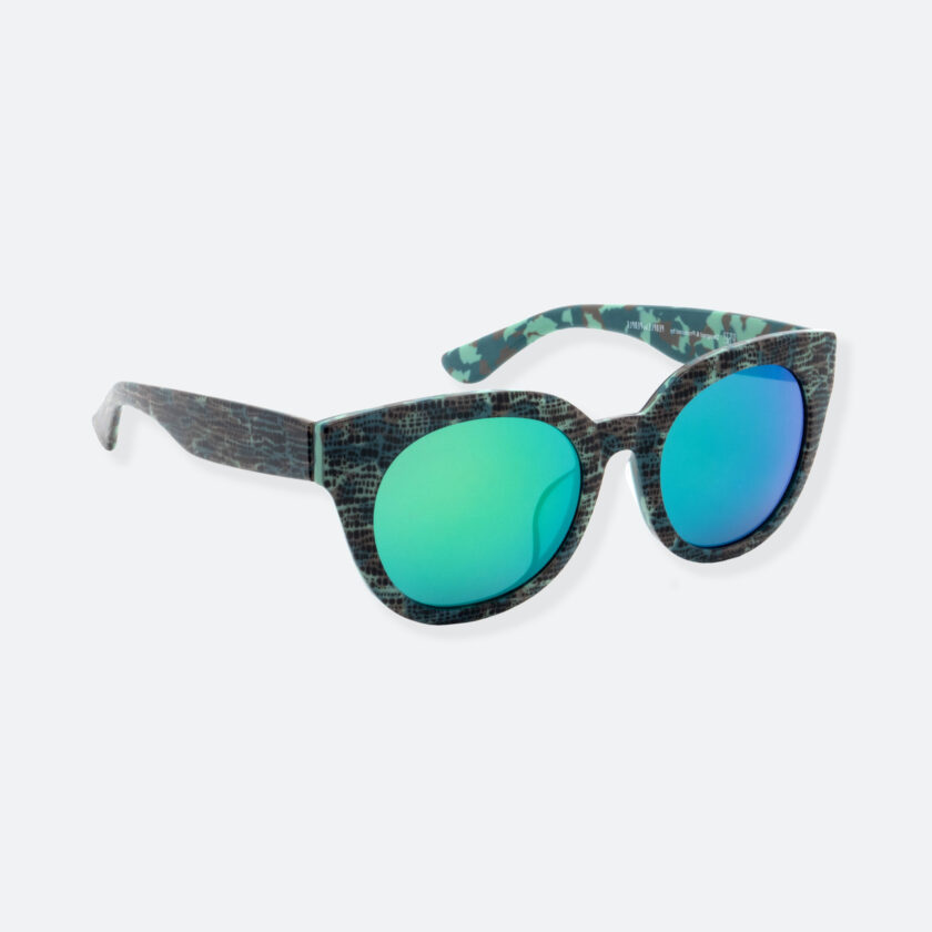 OhMart People By People - Cat Eyes Shape Acetate Frame Sunglasses ( Bravery - Green ) 2