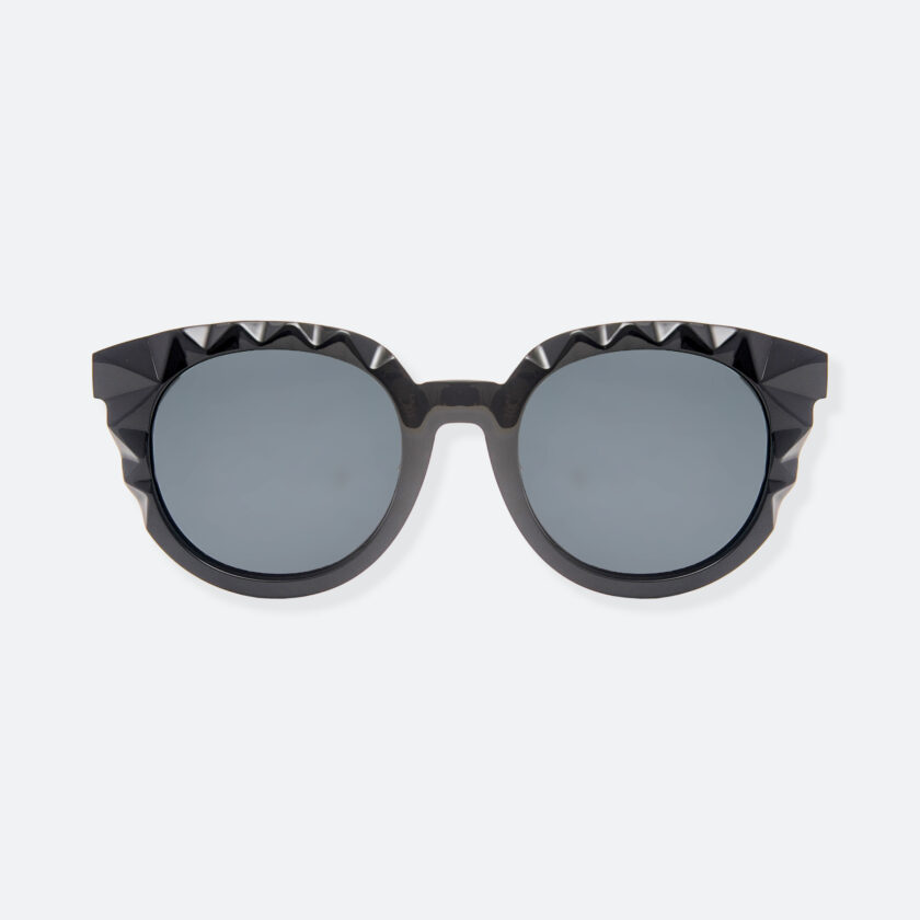OhMart People By People - Wayfarer Acetate Sunglasses ( Diamond - Black ) 1