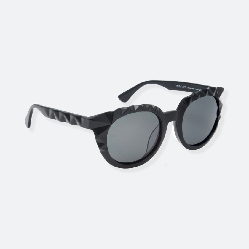 OhMart People By People - Wayfarer Acetate Sunglasses ( Diamond - Black ) 2