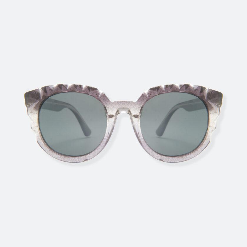 OhMart People By People - Wayfarer Acetate Sunglasses ( Diamond - Glitter Black ) 1