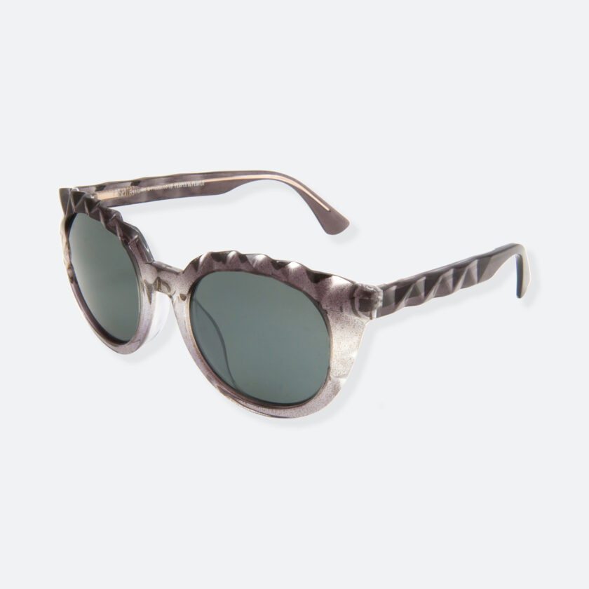 OhMart People By People - Wayfarer Acetate Sunglasses ( Diamond - Glitter Black ) 3