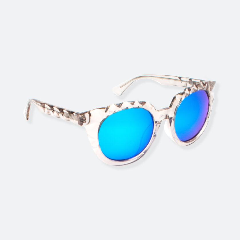 OhMart People By People - Wayfarer Acetate Sunglasses ( Diamond - Transparent ) 2