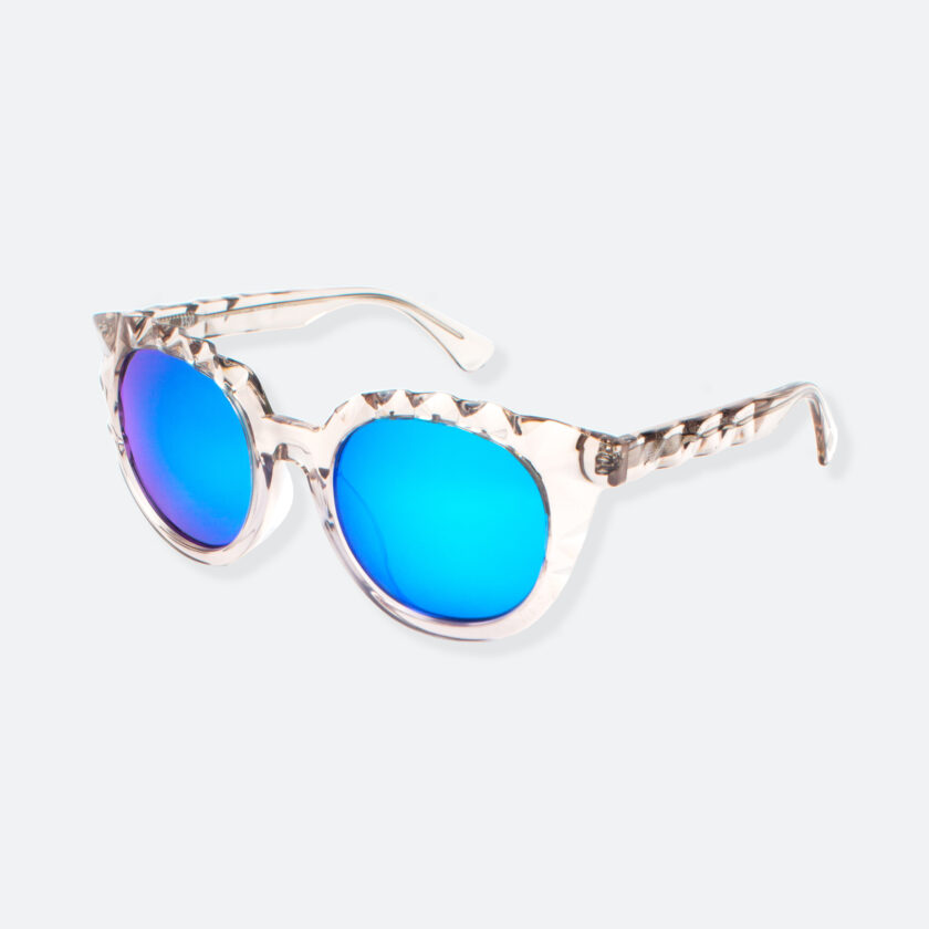 OhMart People By People - Wayfarer Acetate Sunglasses ( Diamond - Transparent ) 3