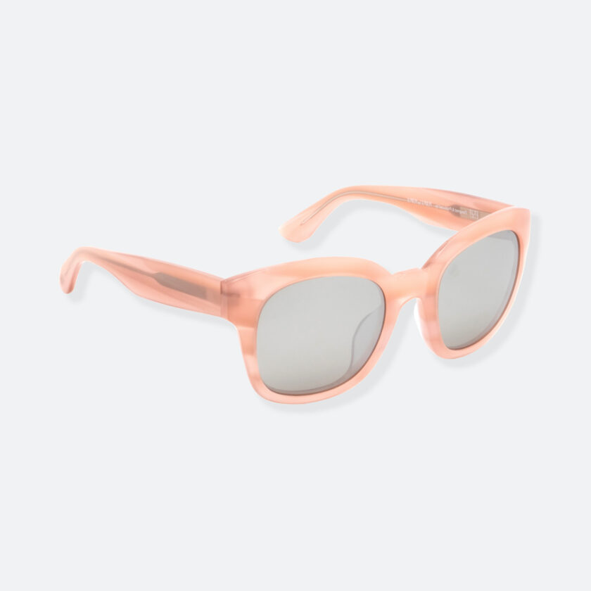 OhMart People By People - Round Acetate Sunglasses ( Greamy - Flesh ) 2