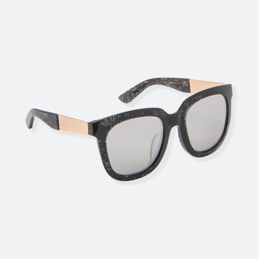 OhMart People By People - Wayfarer Acetate Sunglasses ( Energetic - Black Line Pattern ) 2