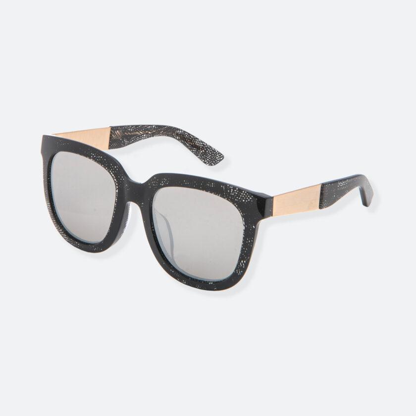 OhMart People By People - Wayfarer Acetate Sunglasses ( Energetic - Black Line Pattern ) 3