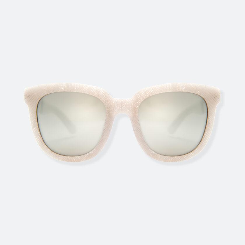 OhMart People By People - Wayfarer Acetate Sunglasses ( Energetic - White Line Pattern ) 1
