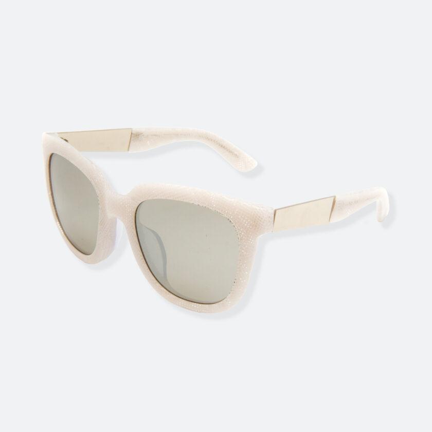 OhMart People By People - Wayfarer Acetate Sunglasses ( Energetic - White Line Pattern ) 3