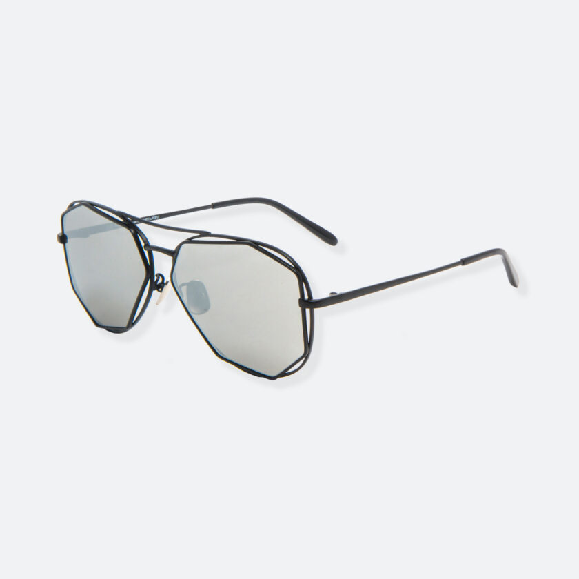 OhMart People By People - Aviator Sunglasses With Polarized Lens ( Big Eyes - Black ) 3