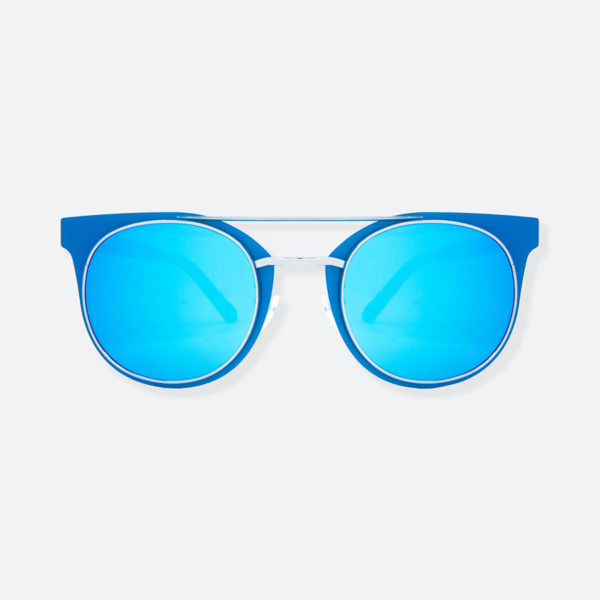OhMart People By People - Brow Bar Sunglasses ( S029 - Blue ) 1