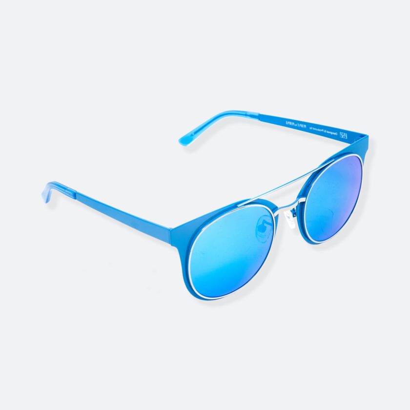 OhMart People By People - Brow Bar Sunglasses ( S029 - Blue ) 2