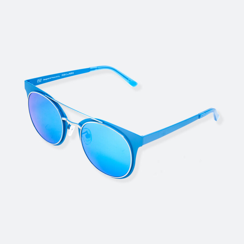 OhMart People By People - Brow Bar Sunglasses ( S029 - Blue ) 3