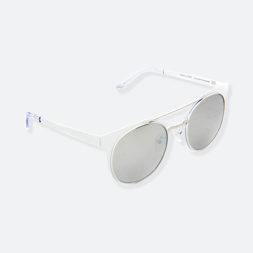 OhMart People By People - Brow Bar Sunglasses ( S029 - White ) 2