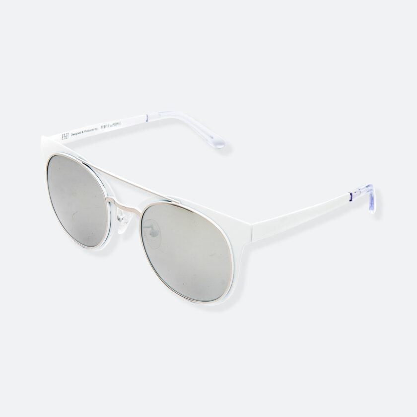 OhMart People By People - Brow Bar Sunglasses ( S029 - White ) 3