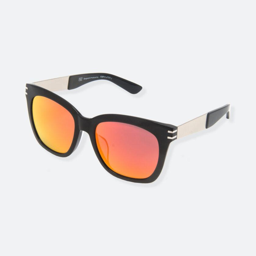 OhMart People By People - Wellington Acetate Sunglasses ( S031 - Orange / Black ) 3