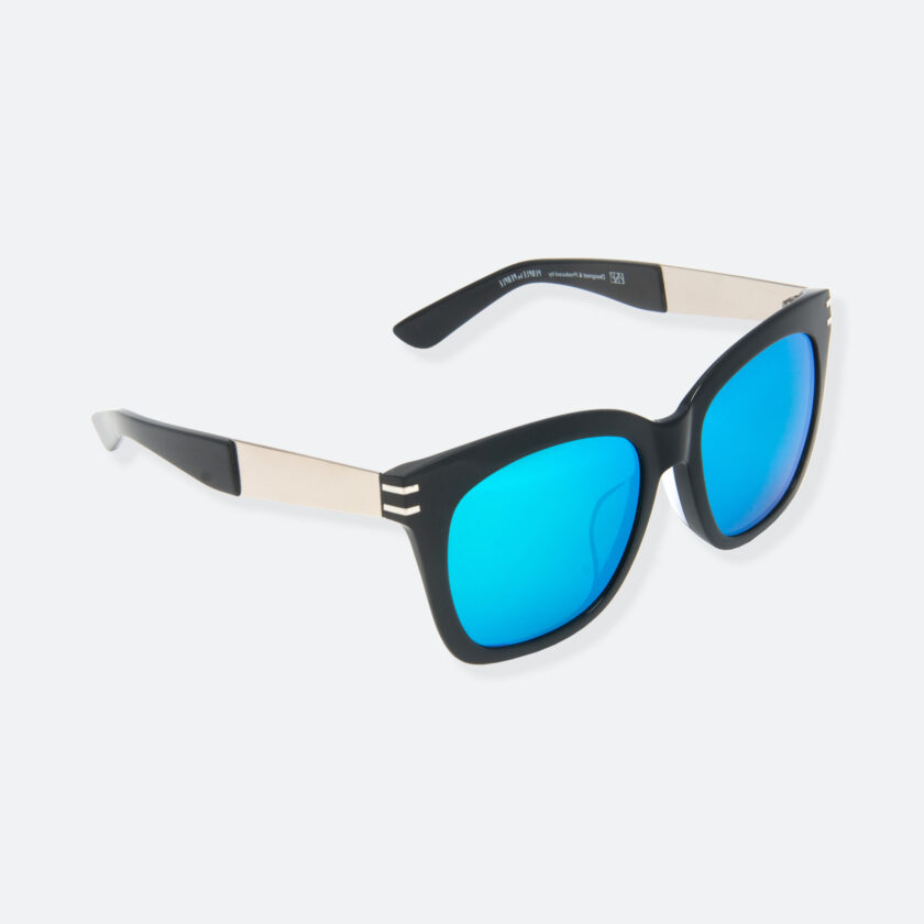 OhMart People By People - Wellington Acetate Sunglasses ( S031 - Light Blue / Black ) 2