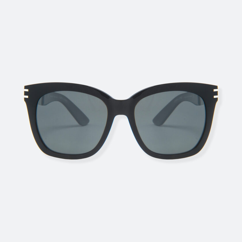 OhMart People By People - Wellington Acetate Sunglasses ( S031 - Dark Gray / Black ) 1