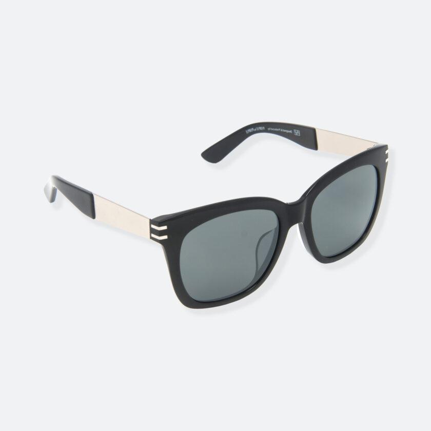 OhMart People By People - Wellington Acetate Sunglasses ( S031 - Dark Gray / Black ) 2