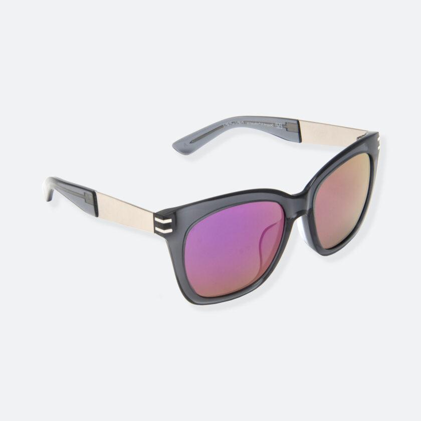 OhMart People By People - Wellington Acetate Sunglasses ( S031 - Purple / Transparent Black ) 2